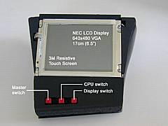 LCD top view